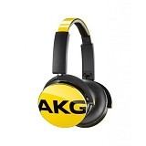 AKG On Ear Headphone With Mic [Y50] - Yellow - Headphone Portable