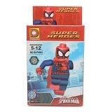 DLP TOYS Small Block Super Heroes Figure [DLP9001C] (V) - Building Set Fantasy / Sci-Fi