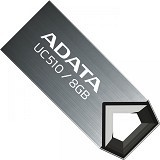ADATA USB 2.0 8GB [UC510] - Black (Merchant) - Usb Flash Disk Basic 2.0