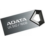 ADATA USB 2.0 16GB [UC510] - Black (Merchant) - Usb Flash Disk Basic 2.0