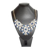 GOODSTORY Kalung Rice Leaves - Blue - Kalung / Necklace