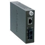 TRENDNET Single-Mode SC Fiber Converter [TFC-1000S70] - Network Converter
