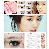 KOBUCCA SHOP Cetakan Alis 3in1 - Eyebrow Color