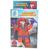 BERTOYINDO Small Block Heroes Assemble Magneto [7099-259] (V) - Building Set Fantasy / Sci-Fi