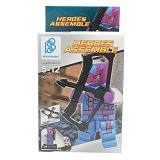BERTOYINDO Small Block Heroes Assemble Purple Hawk Eye [7099-258] (V) - Building Set Fantasy / Sci-Fi