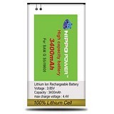 HIPPO Battery Samsung Galaxy S5 3400mAh - Handphone Battery