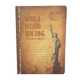 DAOLEN Writing Book Statue of Liberty B5 [JB164] (V) - Buku Tulis