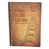 DAOLEN Writing Book Leaning Tower Of Pisa B5 [JB164] (V) - Buku Tulis