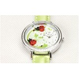 MINI KOREAN WATCH Red Lady Bird - Jam Tangan Wanita Fashion