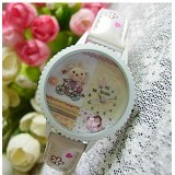 MINI KOREAN WATCH Ride Bycycle - Jam Tangan Wanita Fashion