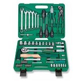 JONNESWAY Dr Tool Kit 60Pcs 1/2 inch & 1/4 inch [S04H52460S] - Tool Set