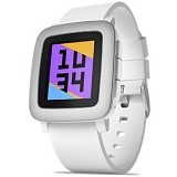 PEBBLE Time - White - Smart Watches