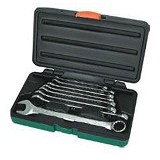 JONNESWAY Super Tech Combination Wrench Set 8Pcs [W84108S] - Kunci Kombinasi