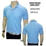 VANMARVELL Krah Polos Size M - Biru Soft - Polo Pria