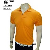 VANMARVELL Krah Polos Size XL - Orange - Polo Pria