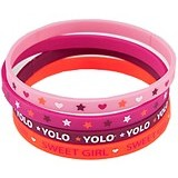 TOP MODEL Silicone Bracelets [TM 7082-B] - Beauty and Fashion Toys