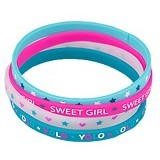 TOP MODEL Silicone Bracelets [TM 7082-C] - Beauty and Fashion Toys