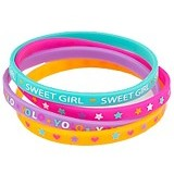 TOP MODEL Silicone Bracelets [TM 7082-D] - Beauty and Fashion Toys