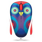 LOGITECH Wireless Mouse M238 [910-004494] - Ophelia Owl - Mouse Basic