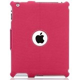 TARGUS Vu Scape Protective Case for iPad 2/3 [THZ15703AP-50] - Calypso Pink - Casing Tablet / Case