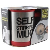 RAJA UNIK Self Stirring Mug - Red - Gelas