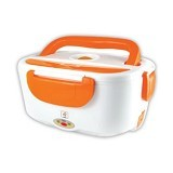 RAJA UNIK Stainless Magic Lunch Box - Orange - Lunch Box / Kotak Makan / Rantang