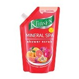 KLINSEN Shower Scrub - Mineral Spa 500ml - Lulur Tubuh / Body Scrub