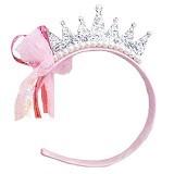 AXHL Pearl Crown Princess Hairband - Silver - Topi & Aksesoris Bayi dan Anak