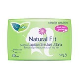 LAURIER Pantyliner Natural Fit Parfum 35pcs [405396]