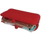 LTISHOP Dompet Paspor Silikon - Red - Dompet Wanita