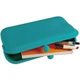 LTISHOP Dompet Paspor Silikon - Turquoise - Dompet Wanita