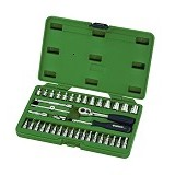 "SATA DR Socket Set Metric 1/4"" 38Pc [09002] (Merchant) - Kunci Sok Set"