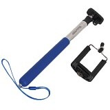 TRANSVIEW Tongsis With Universal Holder - Blue - Gadget Monopod / Tongsis