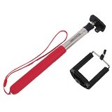 TRANSVIEW Tongsis With Universal Holder - Red - Gadget Monopod / Tongsis