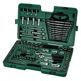 "SATA DR Socket Wrench Set Metric 1/4"" & 3/8"" & 1/2"" 120Pc [09014] (Merchant) - Kunci Sok Set"