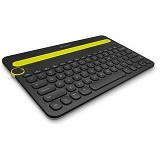 LOGITECH Bluetooth Multi-Device Keyboard K480 [920-006342] - Black - Keyboard Basic