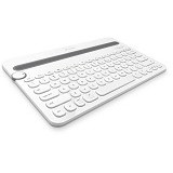LOGITECH Bluetooth Multi-Device Keyboard K480 [920-006343] - White - Keyboard Basic