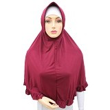 VSTAR Hijab Bergo Umi - Luxury Red (V) - Hijab