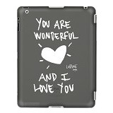 LOSTDOG You are Wonderful and I love You [L13-00004-01] - Black - Casing Tablet / Case
