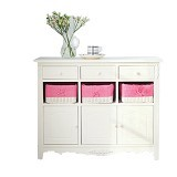 THE OLIVE HOUSE Jasmine 9 Drawer - Cream White - Drawer