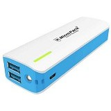 MICROPACK Powerbank 10000mAh [P10KP] - Blue - Portable Charger / Power Bank