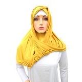 MALANO FASHION Hijab Instant Hanna Cashmere - Yellow (V)