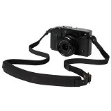 HEVY Strap Kulit Adjustable Untuk Kamera Mirrorless - Hitam - Camera Strap