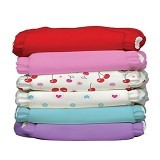CHARLIE BANANA Diapers 12 Insert Set Sweet Cherries One Size - Cloth Diapers / Popok Kain
