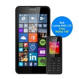 MICROSOFT Lumia 640 LTE [RM-1072] (Garansi Merchant) - Black - Smart Phone Windows Phone