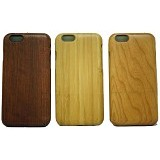 BERZET Slim Wooden Case for iPhone 6 - Cherrywood Motif - Casing Handphone / Case