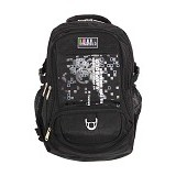 SAN PAOLO Tas Ransel [8911-19] - Black - Notebook Backpack