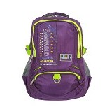 SAN PAOLO Tas Ransel [1960-19] - Purple - Notebook Backpack