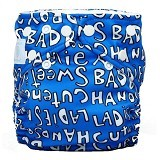 CHARLIE BANANA Diapers 2 Insert Handsome One Size in Bellywrap - Cloth Diapers / Popok Kain