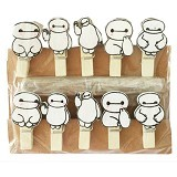 KLAUS Wooden Clip Baymax - Photo Display / Frame